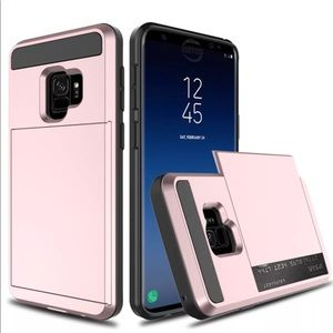 Samsung Galaxy S9 Plus Card wallet shockproof Case